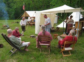 Long Rifle Shooting and Camping 007