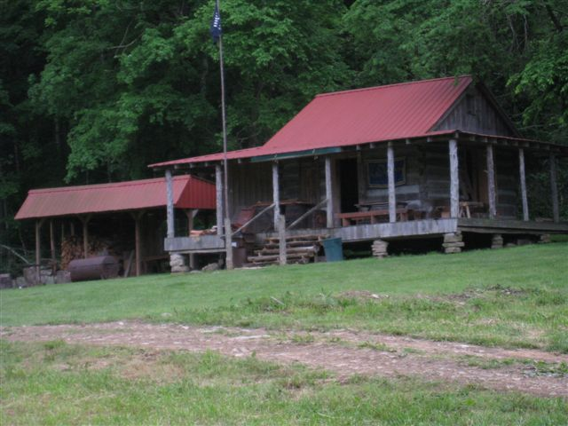 Long Rifle Shooting and Camping 010