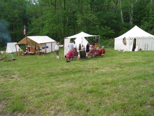 Long Rifle Shooting and Camping 011