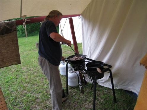 Long Rifle Shooting and Camping 012