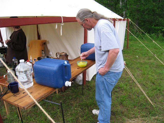 Long Rifle Shooting and Camping 013