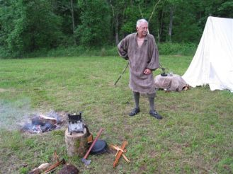 Long Rifle Shooting and Camping 015