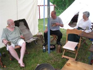 Long Rifle Shooting and Camping 016
