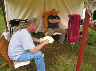 Long Rifle Shooting and Camping 020
