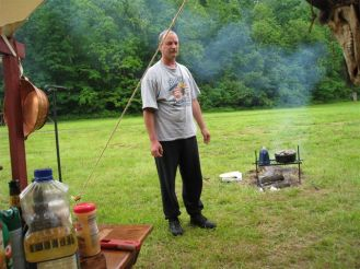 Long Rifle Shooting and Camping 024