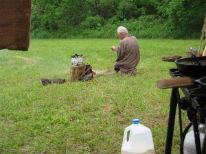 Long Rifle Shooting and Camping 025