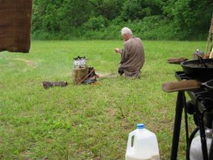 Long Rifle Shooting and Camping 025