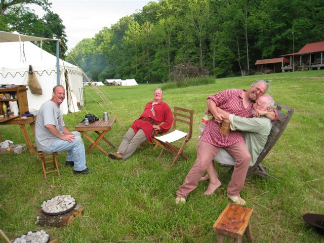 Long Rifle Shooting and Camping 026
